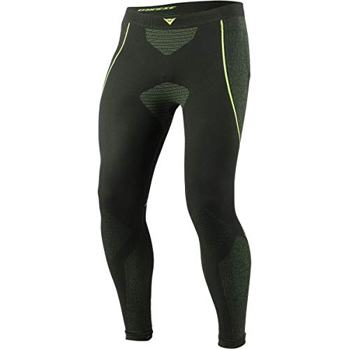 - Dainese D-Core Dry Long Base Layer Pants (Large) (Black/Fluorescent Yellow)