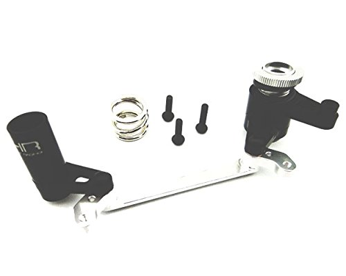 Hot Racing YEX4801 Adjustable Aluminum Steering Bell Crank & Servo Saver - Steering Bell Crank System