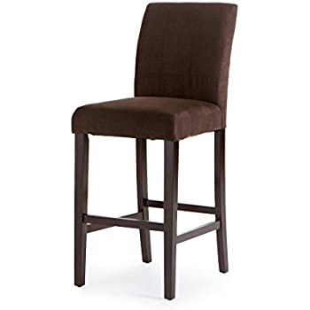 Amazon Com Palazzo 30 Inch Bar Stool Set Of 2 Kitchen