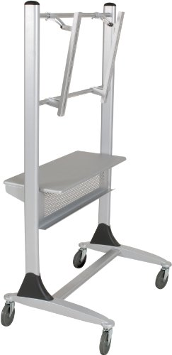 Balt Platinum LCD Cart with Casters, 35-Inch by 25-1/2-Inch by 67-Inch, Silver ()