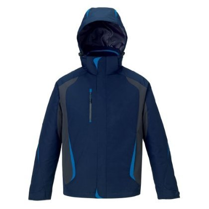 Ash City Mens Height 3 in 1 Jacket (Small, Night)