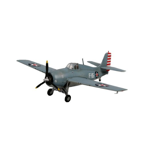 "Easy Model F4F""Wildcat"" VF-3 Aboard USS Lexington Building for sale  Delivered anywhere in USA"