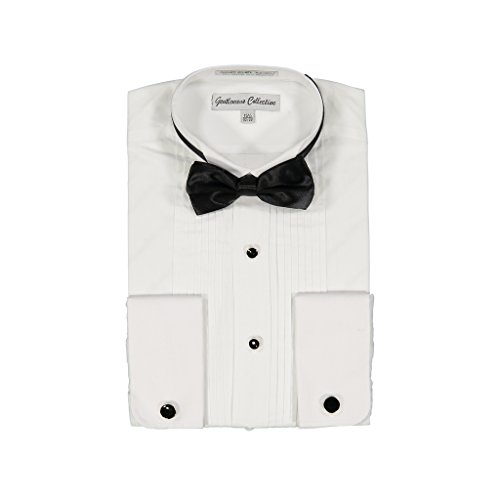 - Gentlemens Collection Mens Tuxedo Shirt 15.5