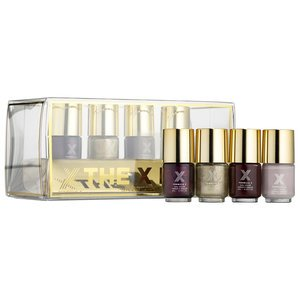 Formula X The X Look: Holiday Edition Mini nail lacquers by (New Sephora Costumes)