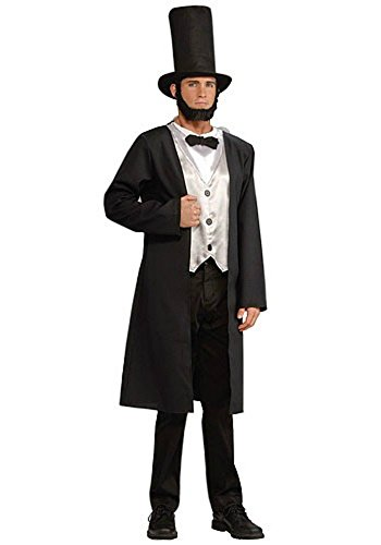 Forum Novelties Mens Historical President Abraham Lincoln Party Fancy Costume, One (Adult Abe Lincoln Costumes)