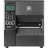 Zebra Technologies ZT23043-T21100FZ Series ZT230 4 TT Tabletop Printer, 300 dpi Resolution, Cutter with Catch Tray, Power Cord with US Plug, Serial/USB/Parallel, ZPL