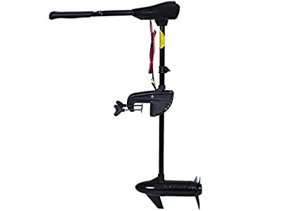 "86lbs Freshwater Transom Mounted Electric Trolling Motor 36"" Shaft"