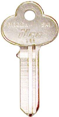 Kaba SK1-R1001EN 0.08 x 2 in Ilco Key Blank for Skillman /& Corbin Locks44; Pack of 10