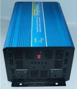 GOWE 3000W 62V/72V DC to AC 110V/220V Off Grid Pure Sine Wave Solar Inverter or Wind Inverter, Single Phase PV Inverter with UPS
