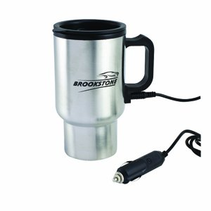 Heated coffee mug for car
