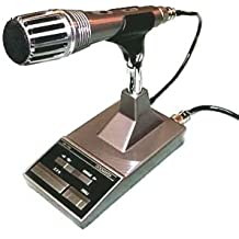 Kenwood Original MC-60A Deluxe Desktop Microphone 8-Pin Connector (All Kenwood HF & Mobile Radios with Modular plugs need the MJ-88 Adapter Not Included)