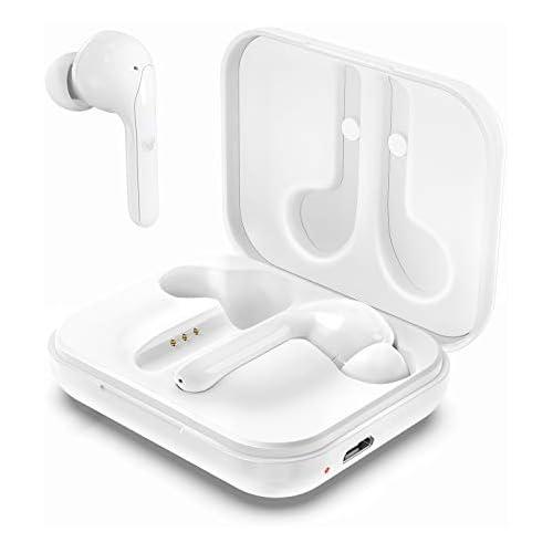 chollos oferta descuentos barato Arbily Auriculares Inalámbricos Bluetooth 5 0 con Caja de Carga Sonido Estéreo HI FI Cancelación de Ruido Control Táctil Soporte Aptx Calidad de Sonido para Correr Deportivo al Aire Libre