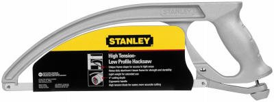 Stanley Consumer Tools 20-001K Hacksaw, Low-Profile Arc-Shaped Frame - Quantity 8