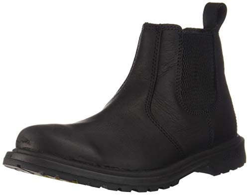Baffin Mens Men's SOHO Ankle Boot, Black, 10.5 Medium US (Black Leather Soho)