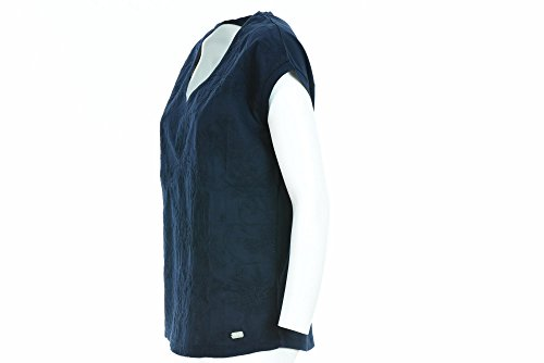 Shirt Blu L MainApps 176 Napapijri Donna T N0YG2A Marine Shalvina dOCdwg