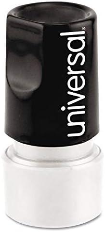 UNV10075 Universal Pre-Inked CHECK MARK Round Icon Stamp