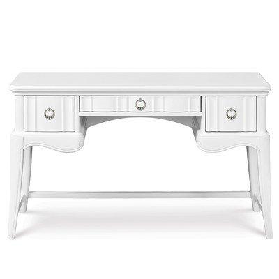 Bundle-67 Gabrielle Writing Desk with Vanity Mirror (3 Pieces)