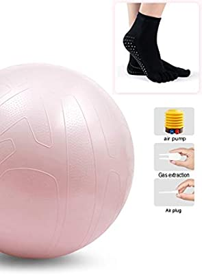 Pilates Ball Yoga, Gym Ball Anti-Burst Extra Thick, Yoga ...