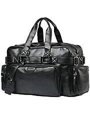 سعة كبيرة حقيبة الكتف حقيبة متعددة الوظائف حقائب جلدية السفر واق من المطر للجنسين