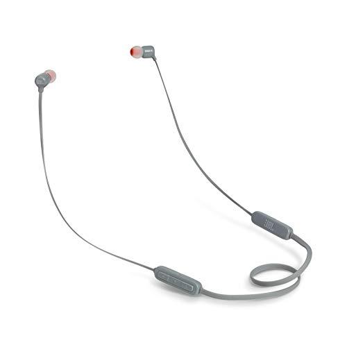 JBL T110BT In-Ear, Wireless Bluetooth Headphone One Size JBLT110BTGRYAM