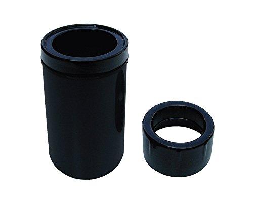 schwarz AquaForte Schwimmskimmer 160mm inklusive Reduzierung