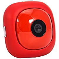 OnReal Spy Camera 1080P Red Hidden Camera WiFi Action Camera Compatible with iOS and Android Phone APP