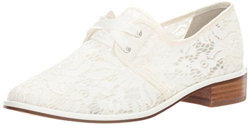 Women Papell White Canvas Oxford Adrianna Paisley qF6qE