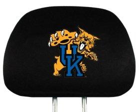 Ncaa Covers Headrest (Kentucky Wildcats UK NCAA Headrest Covers)