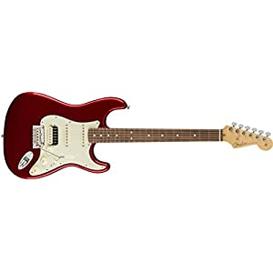 American Professional Stratocaster HSS Shawbucker RW Candy Apple Red