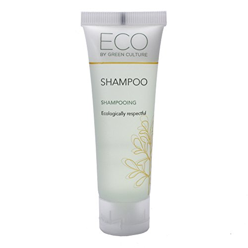 Price comparison product image Eco by Green Culture Hotel Amenities Travel Sized Shampoo 30ml (288 Pack)