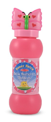 Melissa & Doug Sunny Patch Bella Butterfly Bubble-Blowing Set