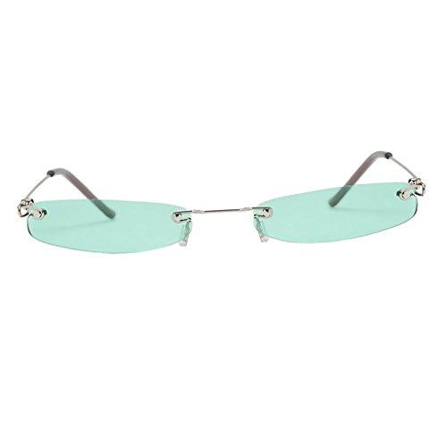 Lentille Protection Plastique P Lunettes Vert Soleil Femme Homme UV de Unisexe Accessoire Prettyia x8BqYXp