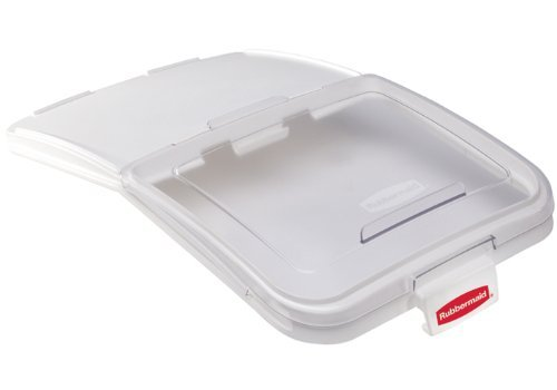 Rubbermaid Commercial ProServe Food Storage Lid with 32 Ounce Scoop, Clear, FG9F7900CLR by Rubbermaid Commercial Products