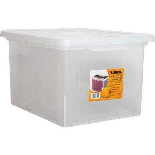 (Lorell LLR68925 Letter/Legal Plastic File Box (9 PACK SAVINGS))