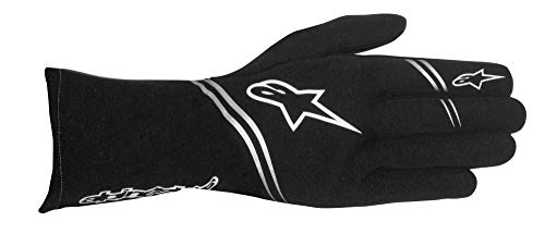 Tech 1 Race Glove - Alpinestars 3551617-10A-L TECH 1 START GLOVE, BLACK, SIZE L, SFI 3.3 LEVEL 5/FIA 8856-2000