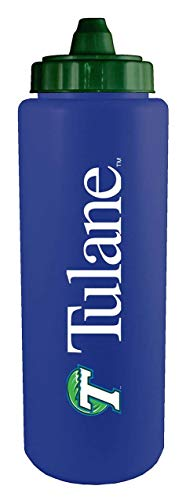 The Fanatic Group Tulane Green Wave 25 Oz. Side Line Sport Bottle - Blue,