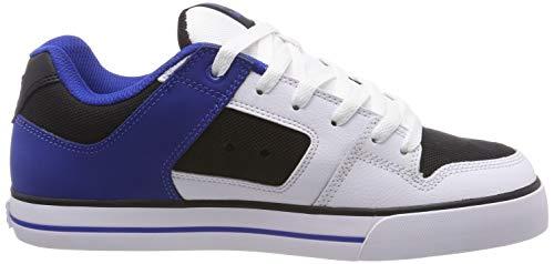 Skateboarding Black Men's DC Pure Ibb Blue Shoes White White 6w1xqw