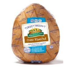 Harvestland Oven Roasted Turkey Breast, 8 Pound - 2 per (Oven Roasted Turkey Breast)