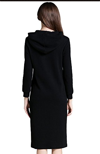 SK Studio - Sudadera con capucha - para mujer negro