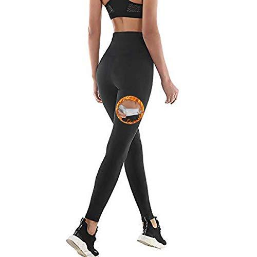 NHEIMA Yogabroek voor dames, hoge taille, lang, sportlegging, stretchbroek, taille controle, loop-legging voor yoga…