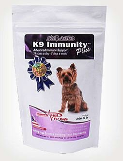 Aloha Medicinals - K9 Immunity Plus - Potent Immune Booster for Dogs up to 30 Pounds - 30 Soft Chews