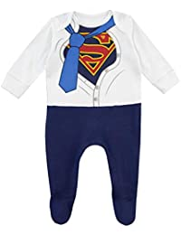 Baby Boys' Superman Footies Blue
