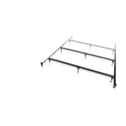 Glideaway Premium Heavy Duty Bed Frame 9-Leg w/ Center Support for Box Spring and Mattress Sets, USA Made, King Size