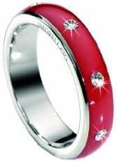 Morellato SNA0901 - Love Rings - Anillo de Mujer de Acero Inoxidable con Cristales