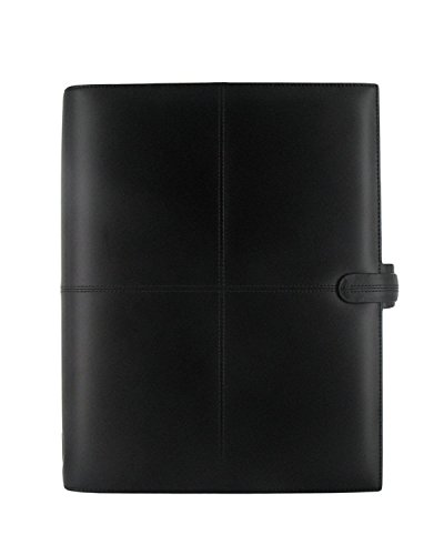 - Filofax Classic A4 Leather Organiser Black Brand New