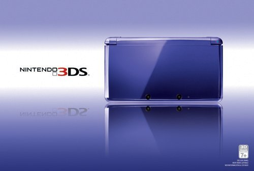 Nintendo 3DS Midnight Purple - Nintendo 3DS by Nintendo (Image #1)