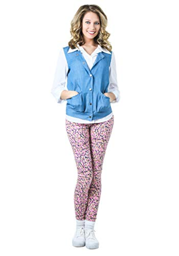 Adult Back to The Future Jennifer Parker Costume Large Blue]()
