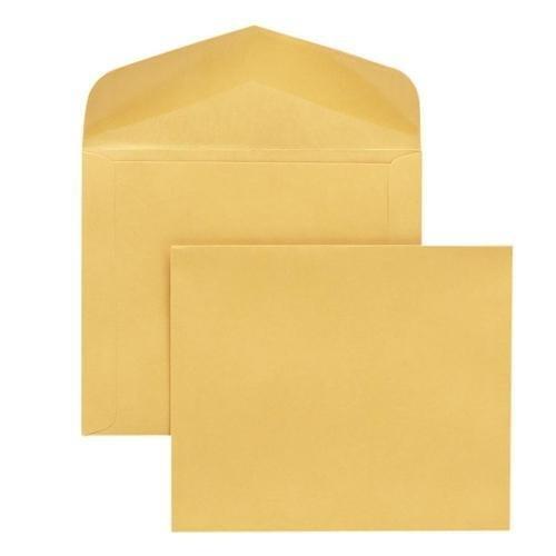 Quality Park 54416 Extra Heavy-Duty Document Envelope - Catalog - 10'' x 15'' - 32 lb - Gummed - 100/Box - Cameo by Quality Park