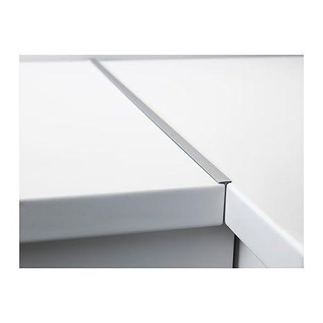 Küchenarbeitsplatte verbinden  IKEA FIXA Fugenleiste für Arbeitsplatte; aus Aluminium; (65x4x1cm ...