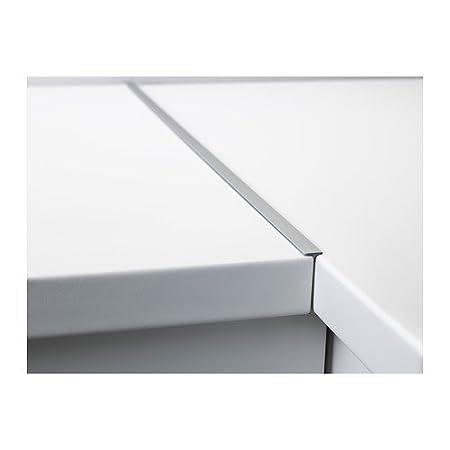IKEA FIXA Fugenleiste für Arbeitsplatte; aus Aluminium; (65x4x1cm ... | {Arbeitsplatten verbinden 16}